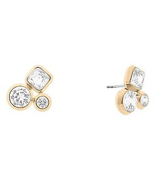 Michael Kors Easy Opulence Cluster Stud Earrings