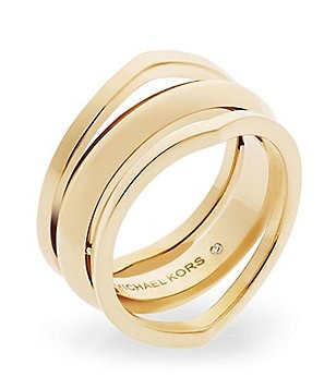 Michael Kors Knife Edge Open Ring