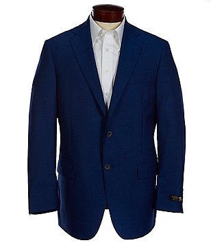 Hart Schaffner Marx Solid Chicago-Fit Wool Sportcoat