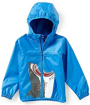 Joules Little Boys 2-6 Shark Hooded Rain Jacket