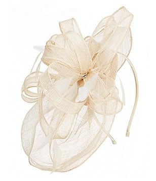 Kate Landry Feather Veil Fascinator