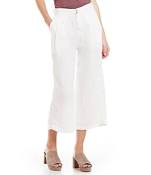 Free People Nomad Linen Culotte Pant