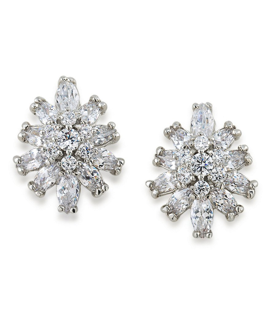 Carolee Something Borrowed Crystal Clip-On Earrings