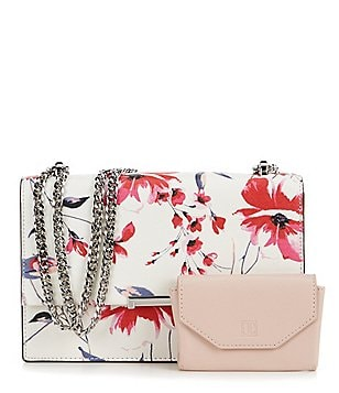 Ivanka Trump Mara Floral Cocktail Bag with Card Case