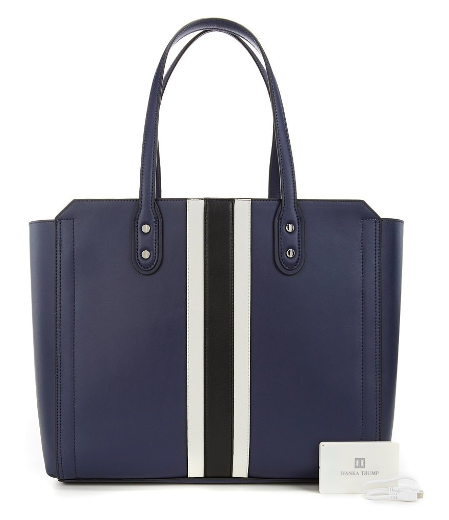 Ivanka Trump Soho Solutions Color Block Tote