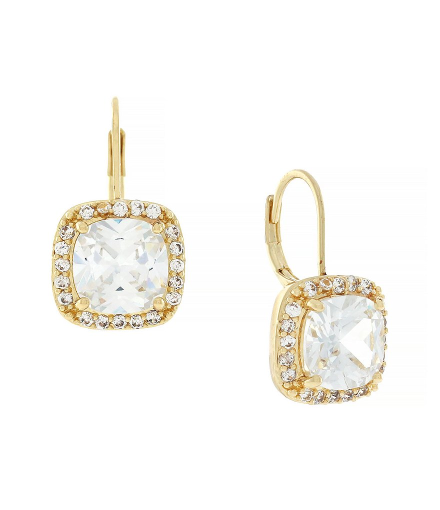 Jessica Simpson Cubic Zirconia Earrings