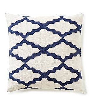 Noble Excellence Hand-Woven Kilim Oversized Pillow