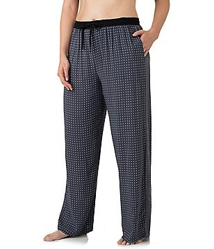 DKNY Plus Geometric Dot Sleep Pants