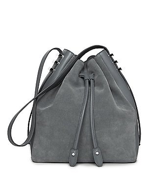 Luana Cecilia Drawstring Bucket Bag