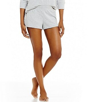 Jane & Bleecker French Terry & Lace Sleep Shorts