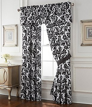 Rose Tree Symphony Damask Window Treatments