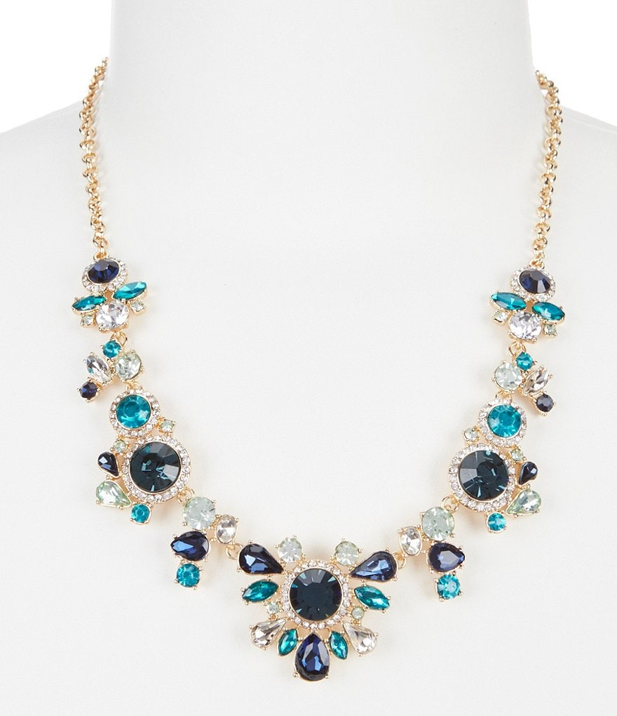 Gemma Layne Pavé Statement Necklace