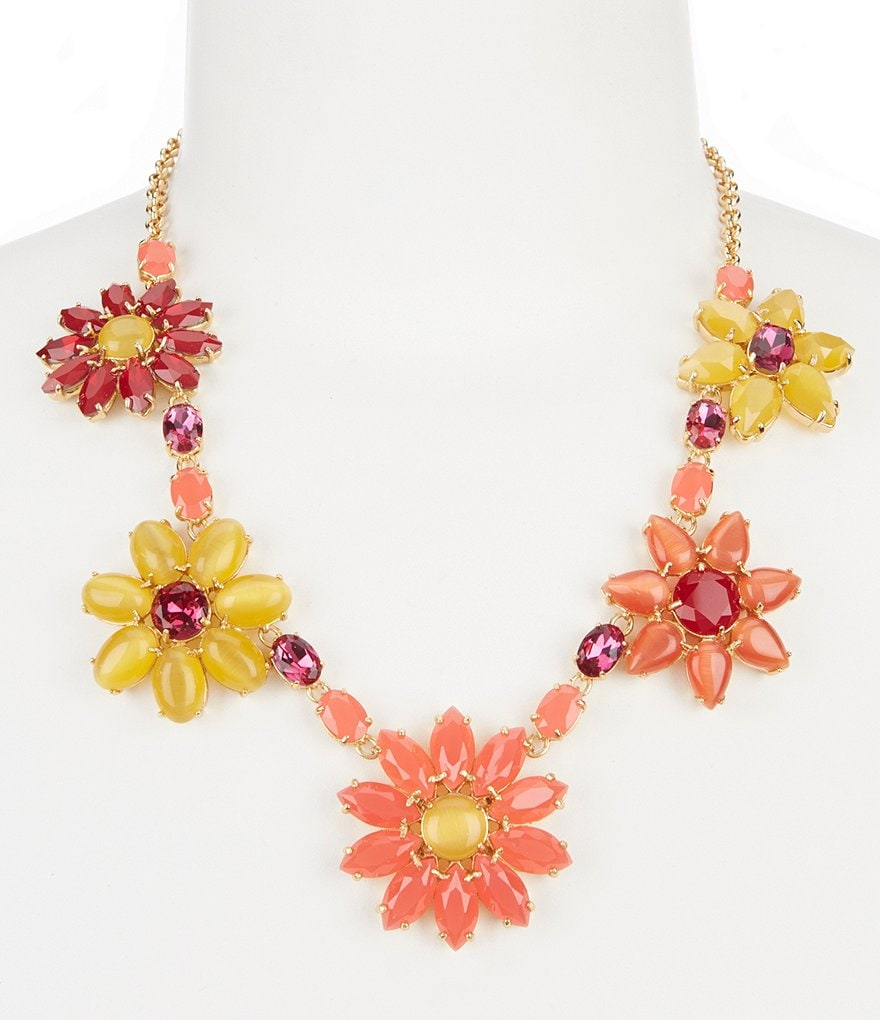 kate spade new york Brilliant Bouquet Statement Necklace