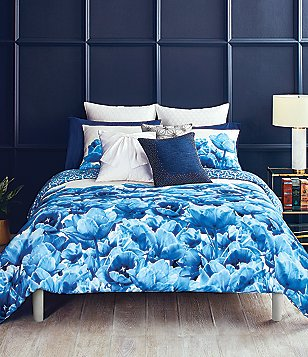 Ted Baker London Blue Beauty Collection Tulip & Medallion Comforter Mini Set