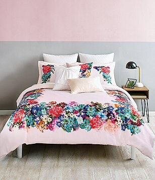 Ted Baker London Focus Bouquet Collection Floral Sateen Comforter Mini Set