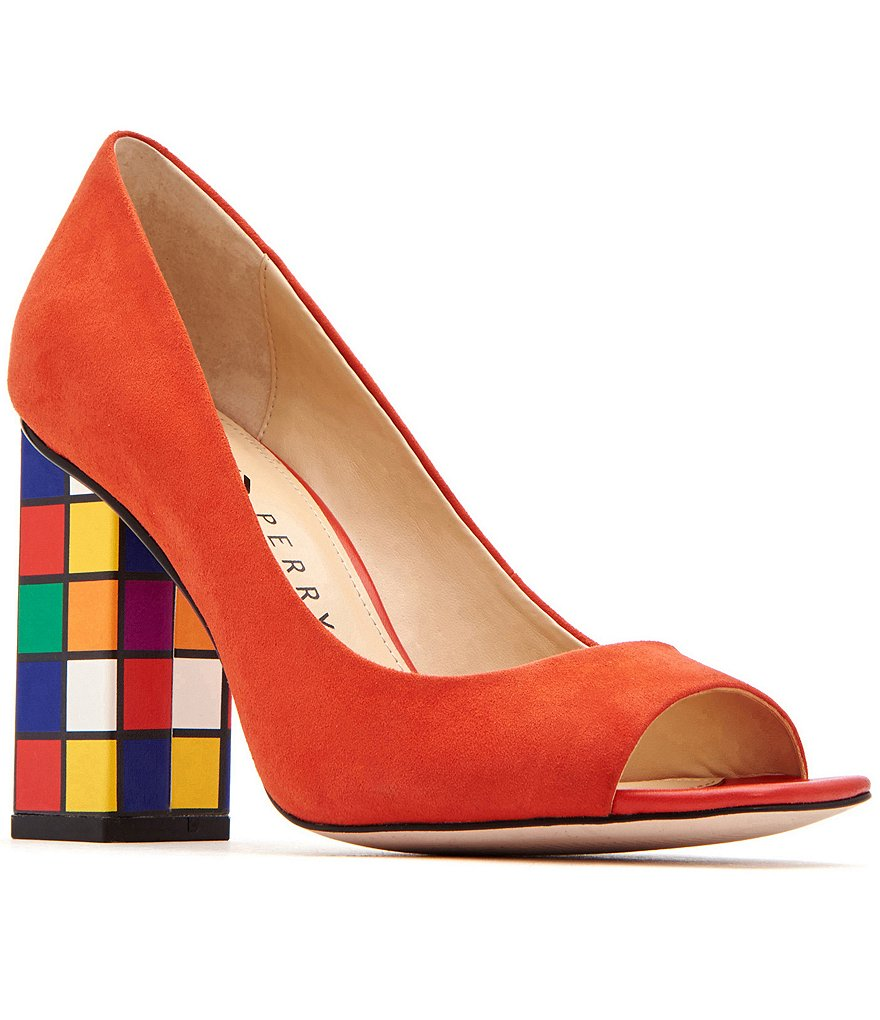 Katy Perry The Caitlin Color Block Heel Pumps