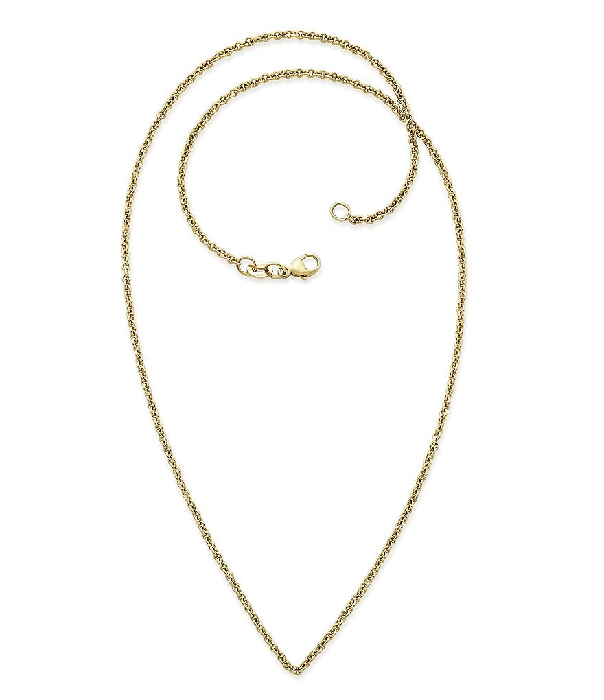 James Avery 14K Gold Light Cable Chain Necklace