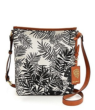 Tommy Bahama Palm Beach Embroidered Cross-Body Bag