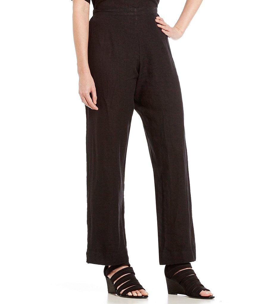 Bryn Walker Flat Front Light Linen Pants