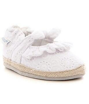 Robeez Baby Girls Newborn-18 Months Sunshine Espadrille Baby Shoes