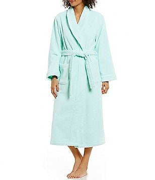 Cabernet Terry Wrap Robe