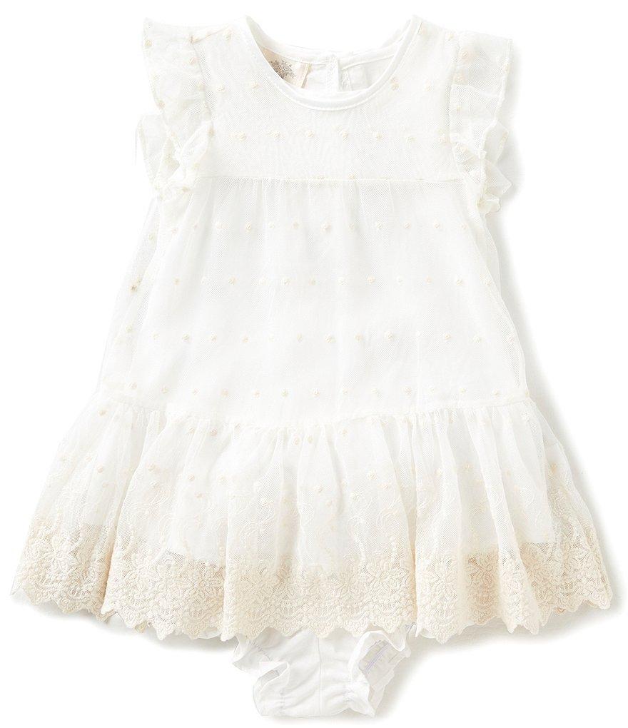 Laura Ashley London Baby Girls Newborn 24 Months Flutter