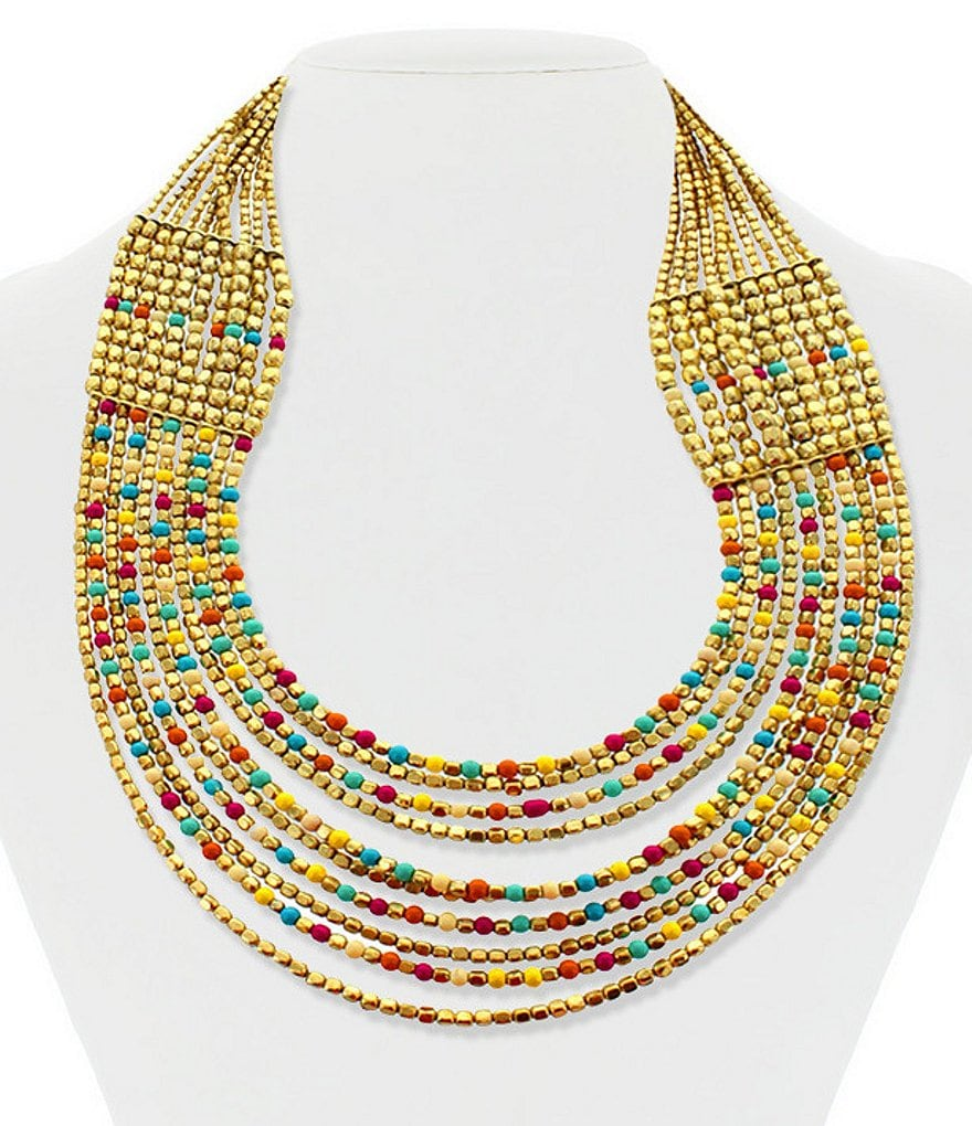 Panacea Multi-Strand Statement Necklace