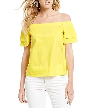 Gianni Bini Laura Off-the-Shoulder Blouse