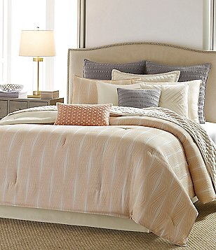 candice OLSON Impulse Geometric Jacquard Comforter Set