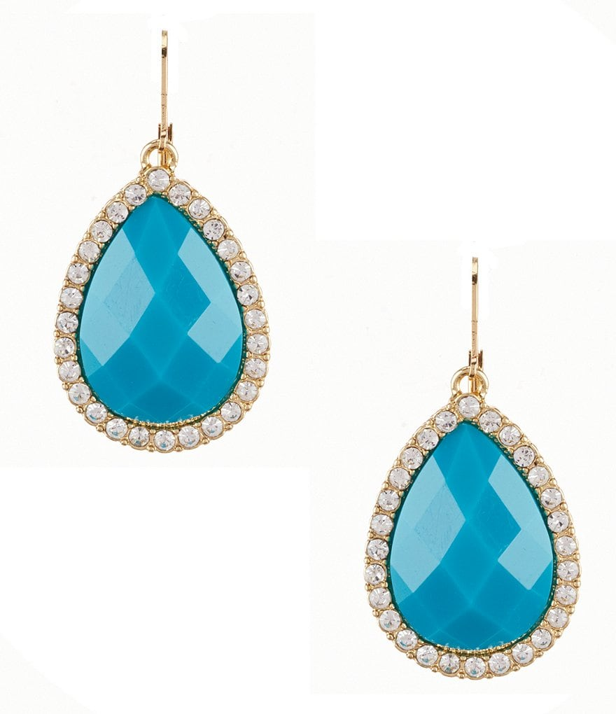Anna & Ava Aruba Pavé Drop Earrings