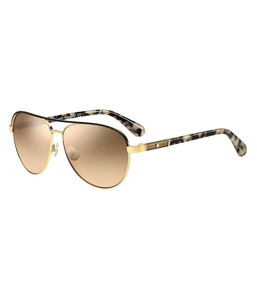 kate spade new york Emilyann Aviator Sunglasses