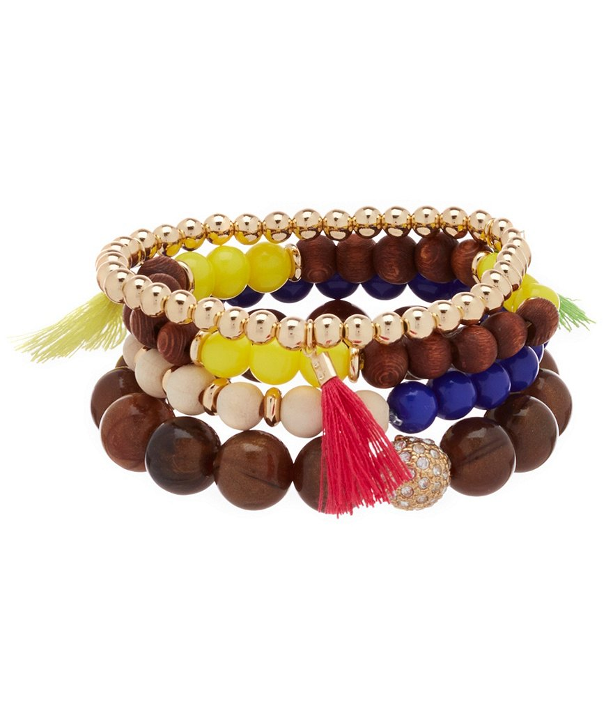 Anna & Ava Isa Boho Stretch Bracelet Set