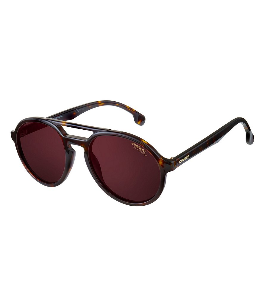 Carrera Pace Polarized Rounded Aviator Sunglasses