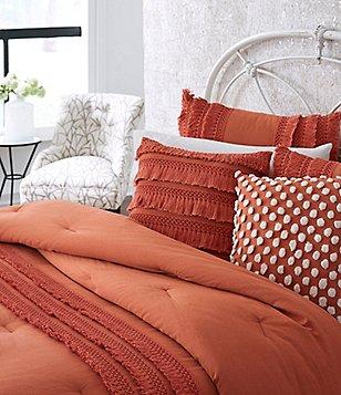 Studio D Fiona Fringed Crochet Comforter