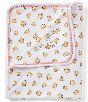 kate spade new york Baby Girls Orangerie Blanket