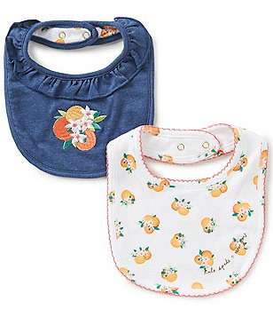 kate spade new york Baby Girls Orangerie Bib 2-Piece Set
