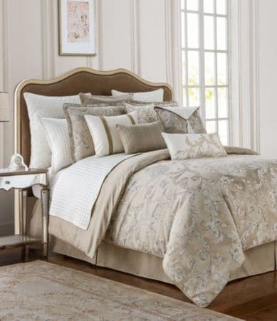 Waterford Chantelle Leaf Jacquard Comforter Set Dillards