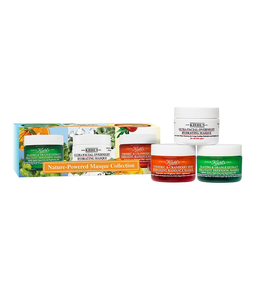 Kiehl´s Since 1851 Nature-Powered Masque Collection