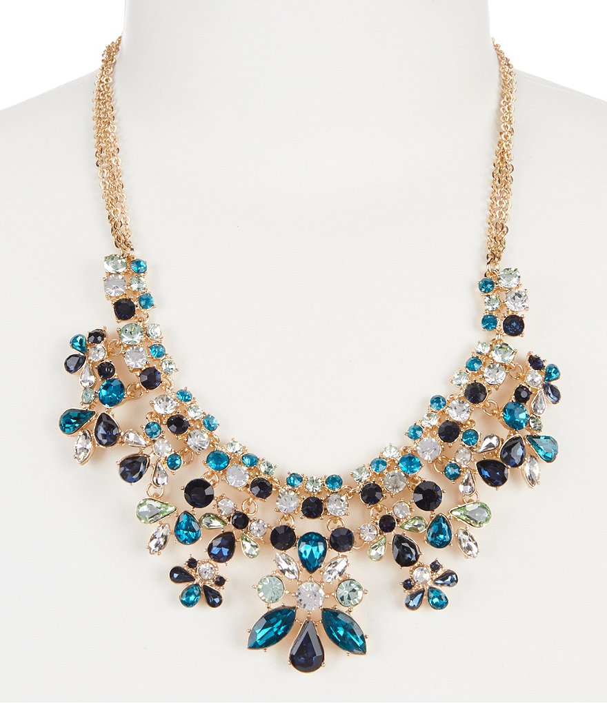 Gemma Layne Multi-Stone Statement Necklace