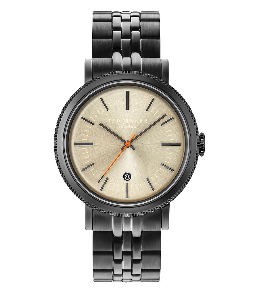 Ted Baker London Connor Analog & Date Bracelet Watch