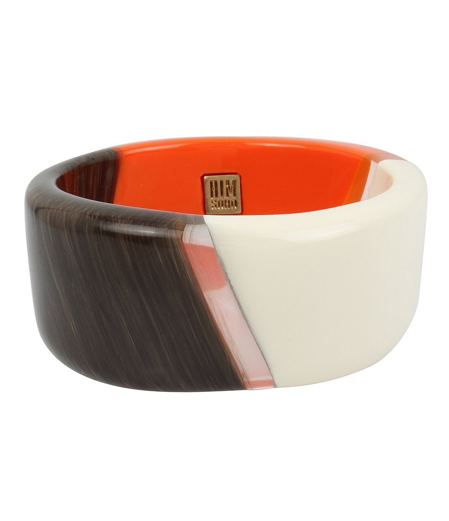 Robert Lee Morris Soho Colorblocked Bangle Bracelet