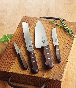 Victorinox Swiss Army 7-Piece Rosewood Block Set