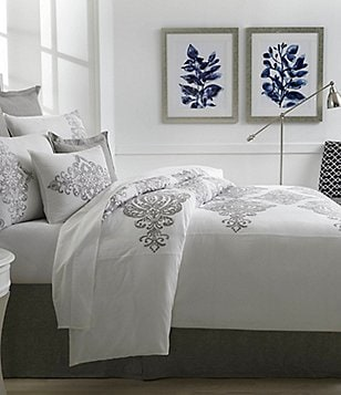 Southern Living Tisdale Embroidered Duvet Mini Set