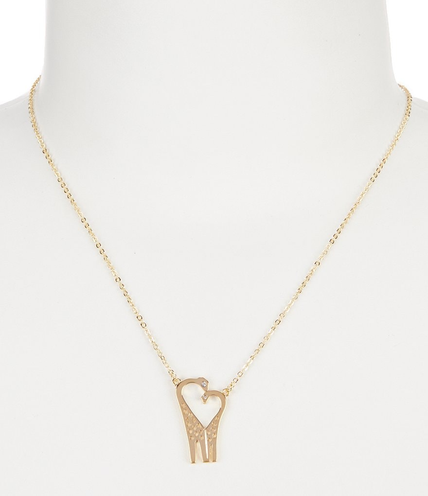 kate spade new york Mom Knows Best Giraffe Pendant Necklace