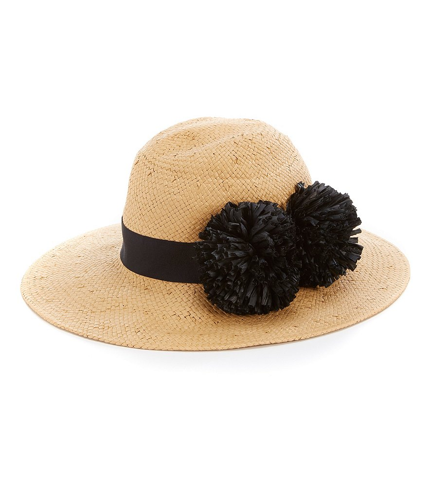 August Hats Pom Pom Fedora