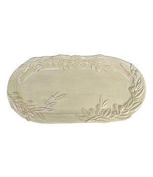 Artimino Glazed Oval Olive Tray