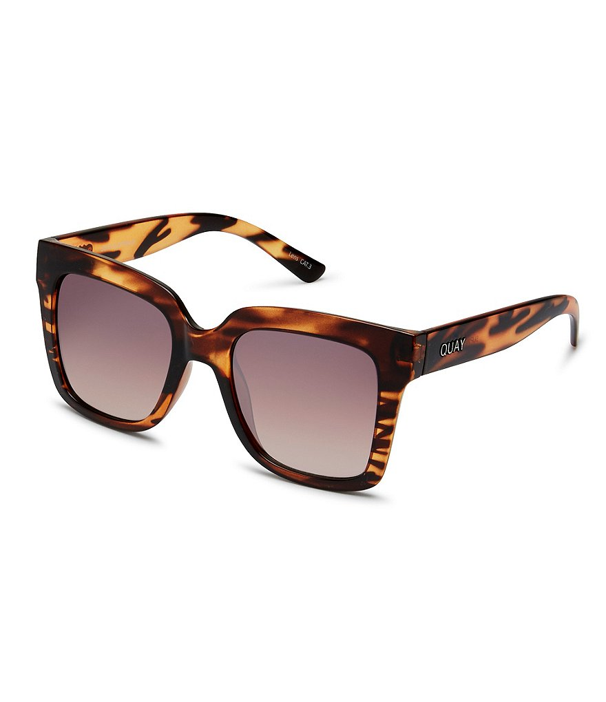 Quay Australia Supine Oversized Square Sunglasses