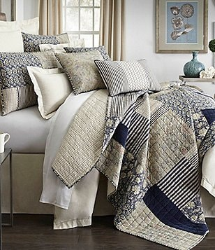 Villa by Noble Excellence Adrienne Patchwork Quilt Mini Set