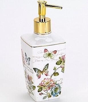 Avanti Linens Butterfly Garden Lotion Pump