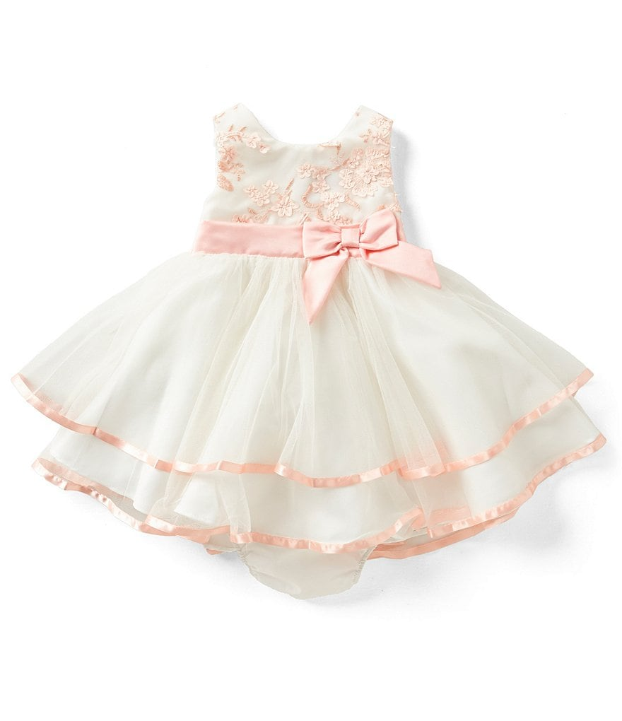 Rare Editions Baby Girls 3 24 Months Floral Lace Tiered